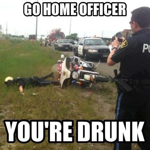Officer accused of DUI… while on duty
