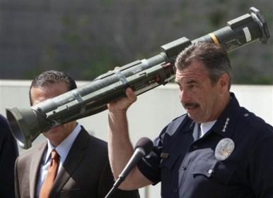 """LA Slimes: It was an """"anti-tank rocket launcher"""""""