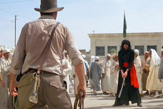 You can buy the gun used by Indiana Jones
