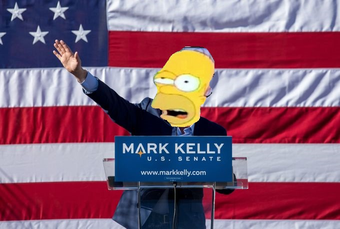 Mark Kelly has twice as much cash as GOP candidate…