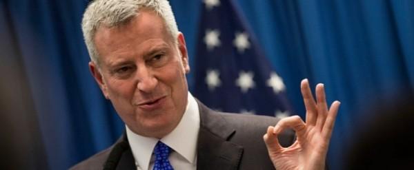 NYC Mayor de Blasio praises 'peaceful weekend,' fails to mention six-year-old boy was shot